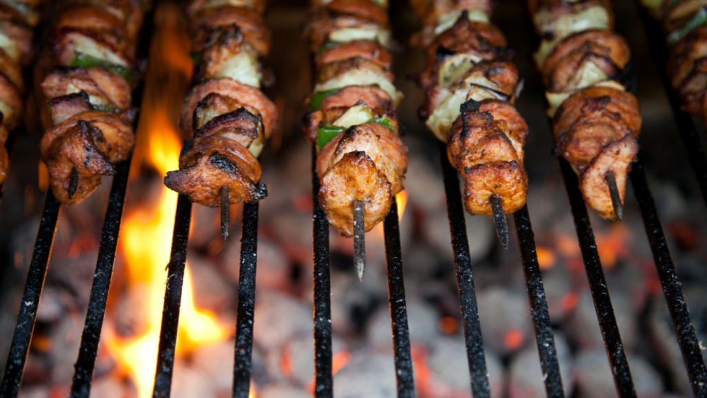 good food in your backyard winter bbq