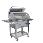bison premium charcoal cart open