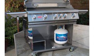 open brahma cart propane grill