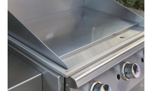 griddle flat top open bull bbq