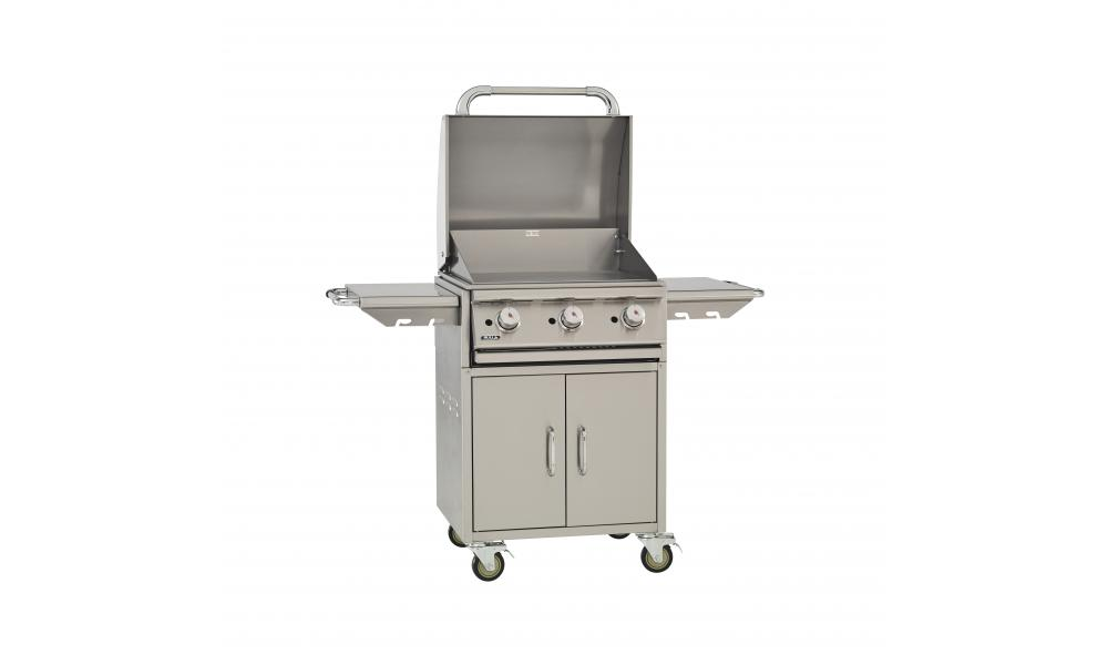 bull bbq commercial griddle cart