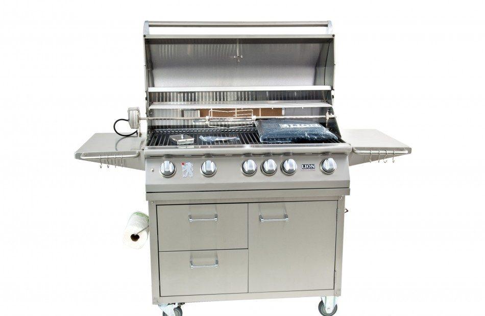 l90000 premium cart lion grills