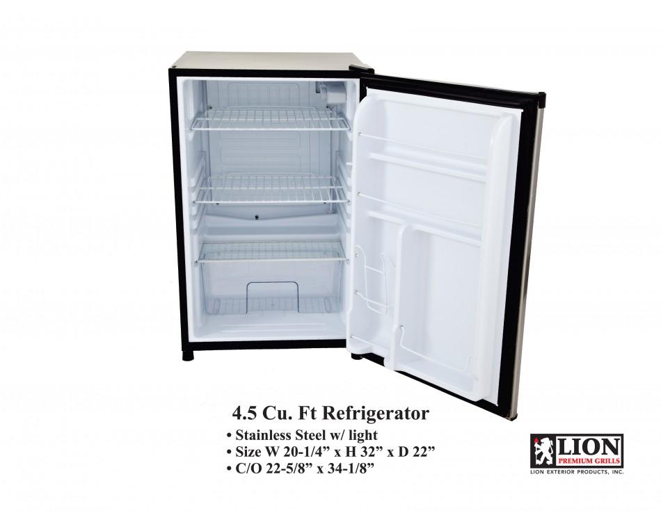 lion bbq fridge refrigerator