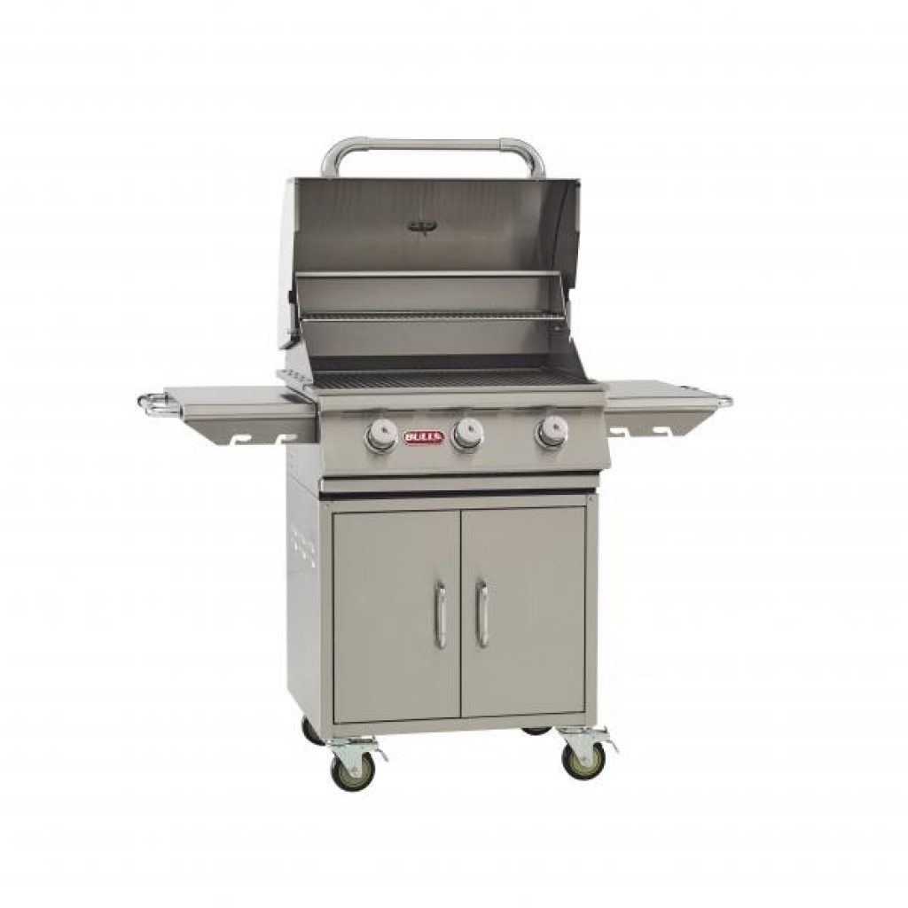 steer cart bull bbq outdoor grill