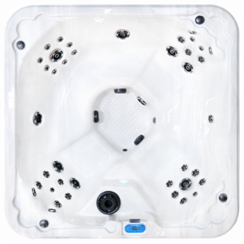 es76 clearwater spa evergreen series 7 person hot tub